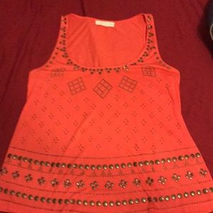 Urban Outfitters Soft Coral Tank Top Shirt M